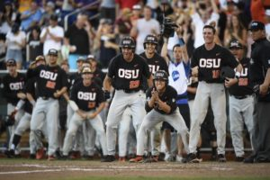 Oregon State Rolls LSU At CWS