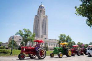 TRAN Celebrates Nebraska's 150th With Trip Around Capitol