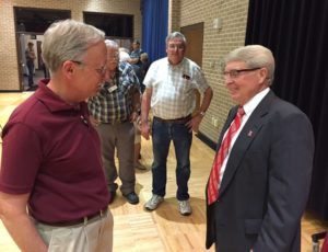 (AUDIO) Reception Held For CASNR Dean Steve Waller
