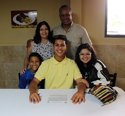 Northeast signs baseball recruit from Puerto Rico