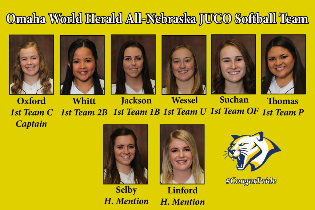WNCC places eight on the All-Nebraska softball team