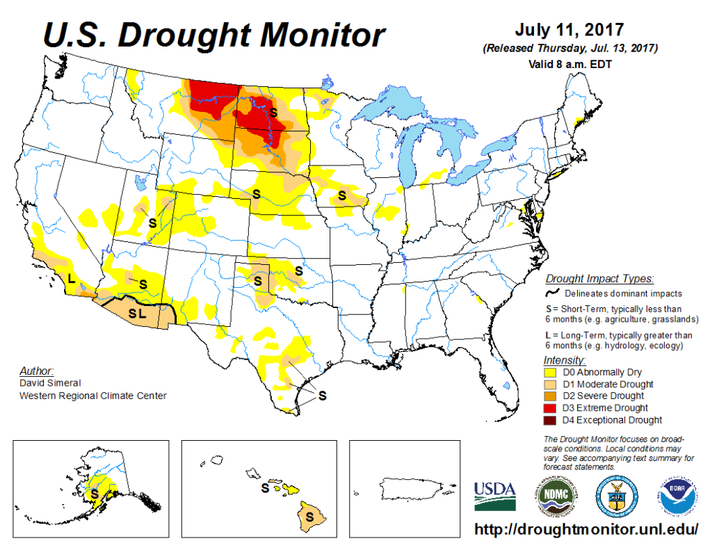Upper Midwest Drought Growing
