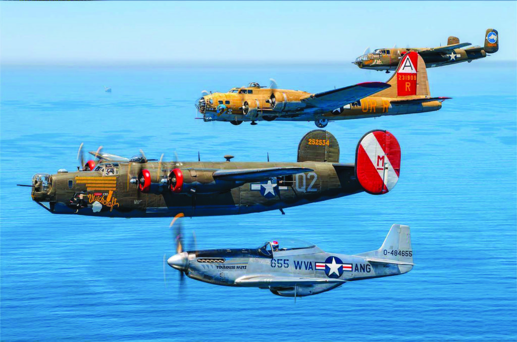 """National World War II """"Wings of Freedom Tour"""" Landing In Kearney"""