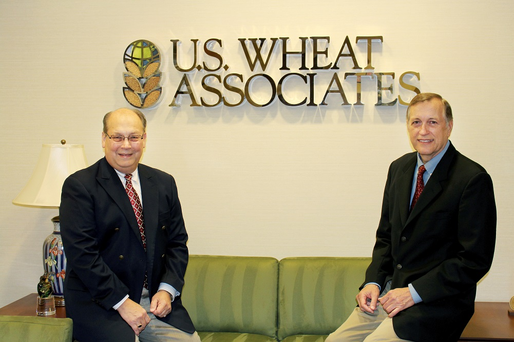 Vince Peterson Replaces Alan Tracy as U.S. Wheat Associates President