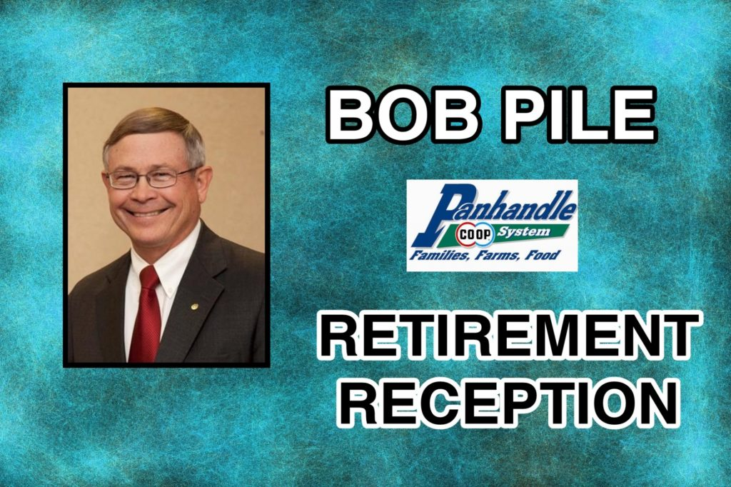 Reception Wednesday will honor former Panhandle Coop CEO Bob Pile