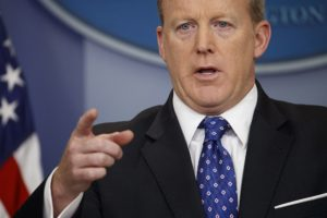 The Latest: Sanders to conduct on-camera WH briefing