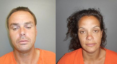 Couple arrested with stolen moving van appear in court