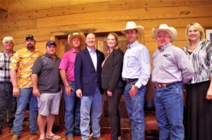 Governor Ricketts Attends NCSA Summer Meeting