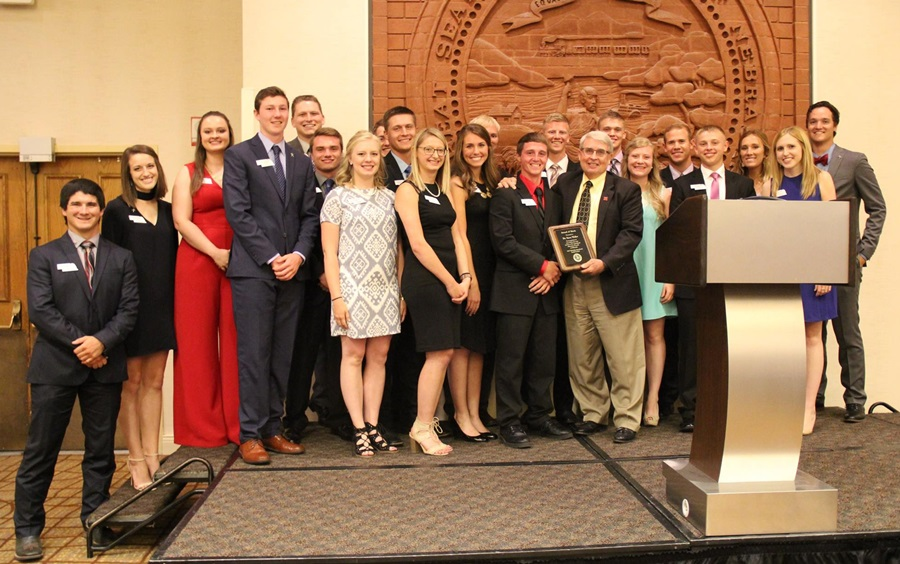 Steve Waller Receives Ne Ag Youth Council's Highest Honor