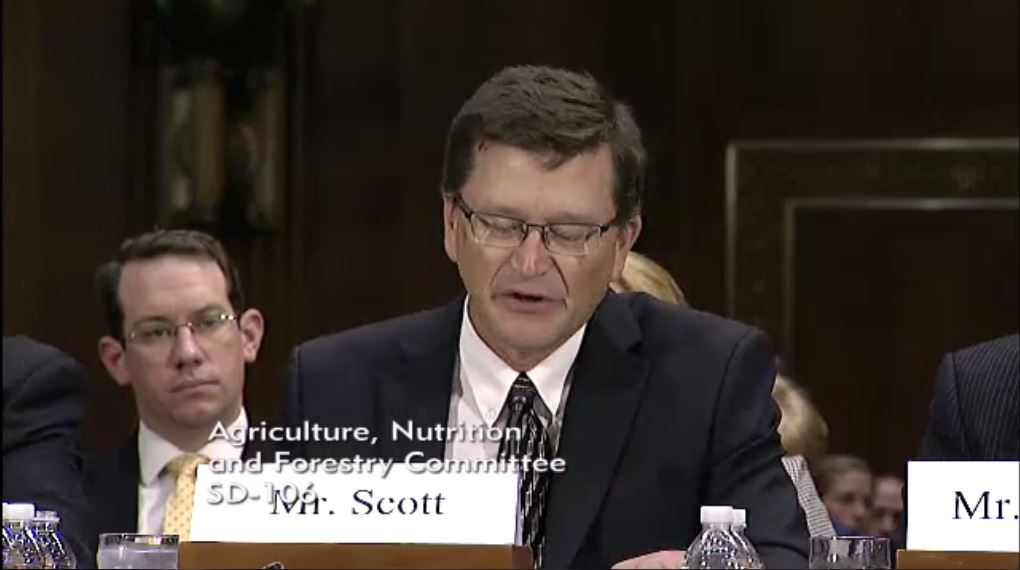 ASA's Scott Testifies on Farm Bill Risk Management Programs