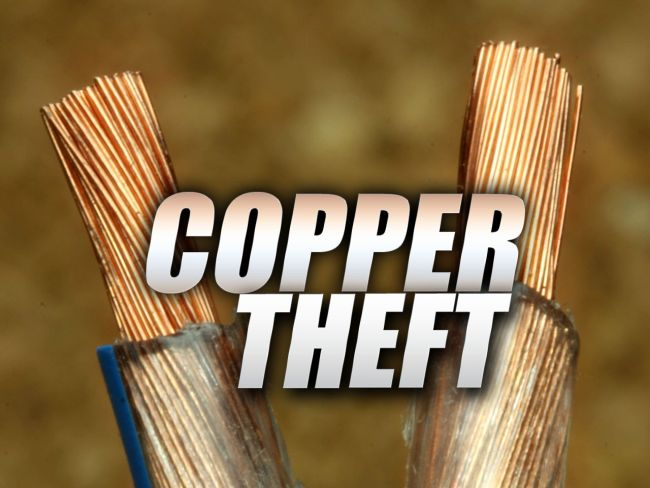 Copper theft: gain a buck, lose a life