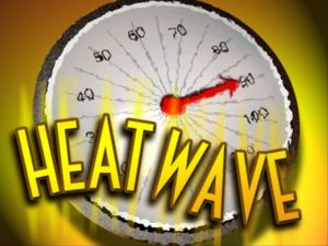 Heat Advisory in effect until 7:00 p.m. Saturday