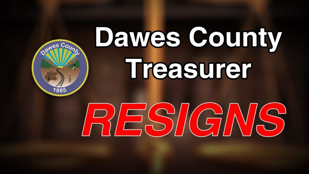 Dawes Co. Treasurer resigns following pleas in misconduct case