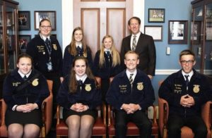 Smith Welcomes Chambers, Elgin, Elm Creek, and O'Neill FFA Students to Nation's Capital