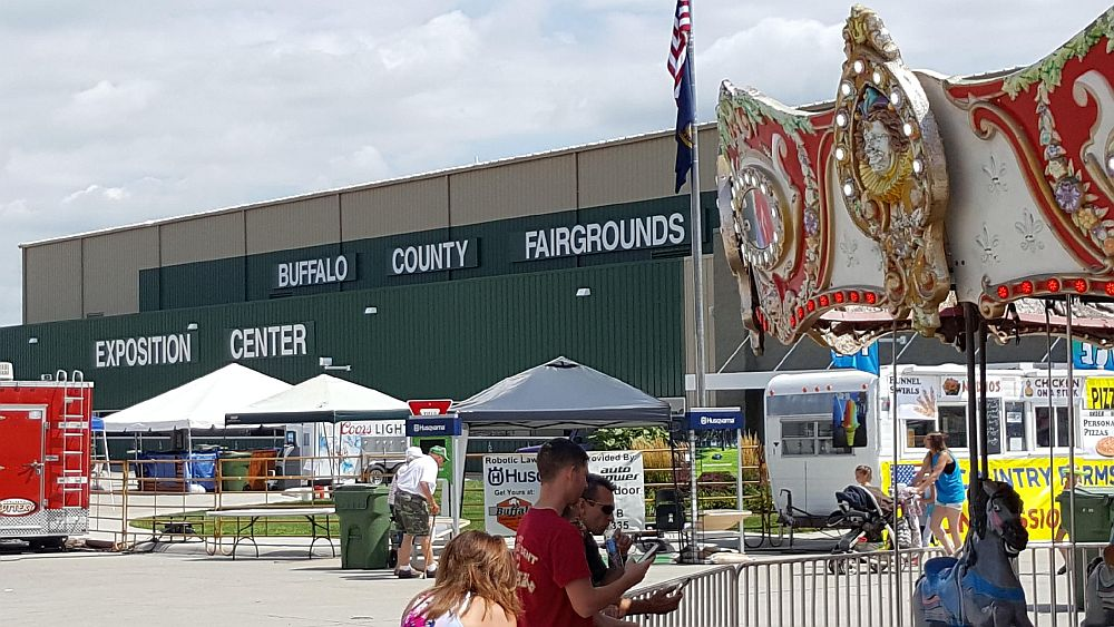 Shot fired at Buffalo County Fair