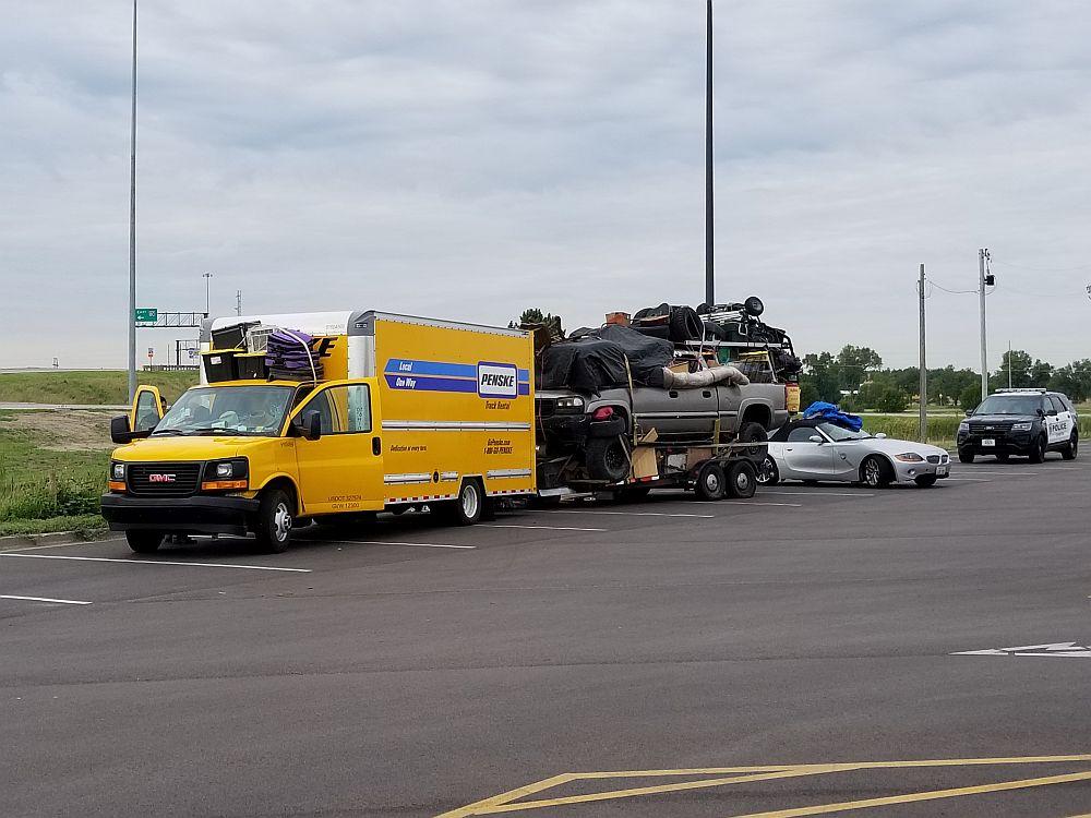 Two arrests in Lexington involving stolen rental truck
