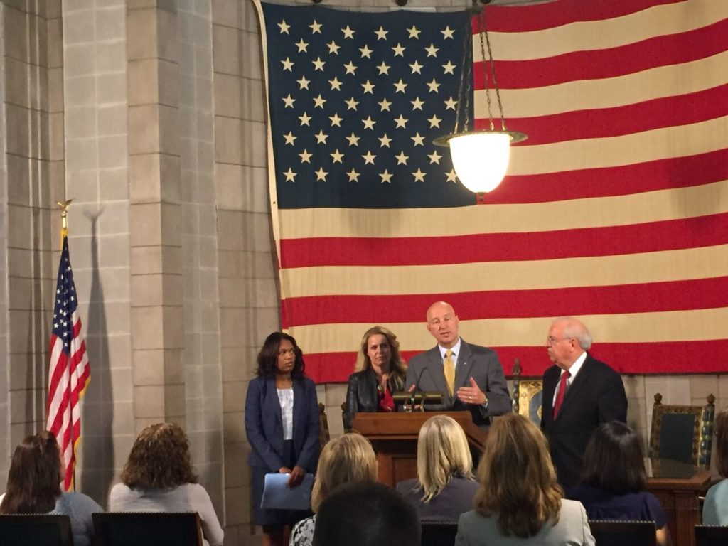 Gov. Ricketts Unveils Program Connecting SNAP Clients to Better Job Opportunities