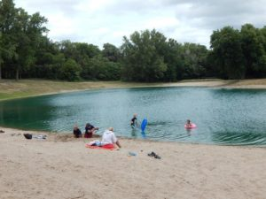 Cottonmill Park Swim Lake Closed