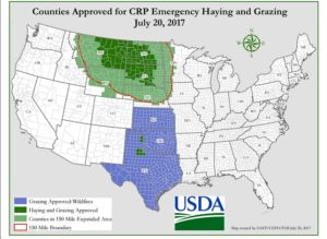 USDA Expands CRP Emergency Haying and Grazing Options
