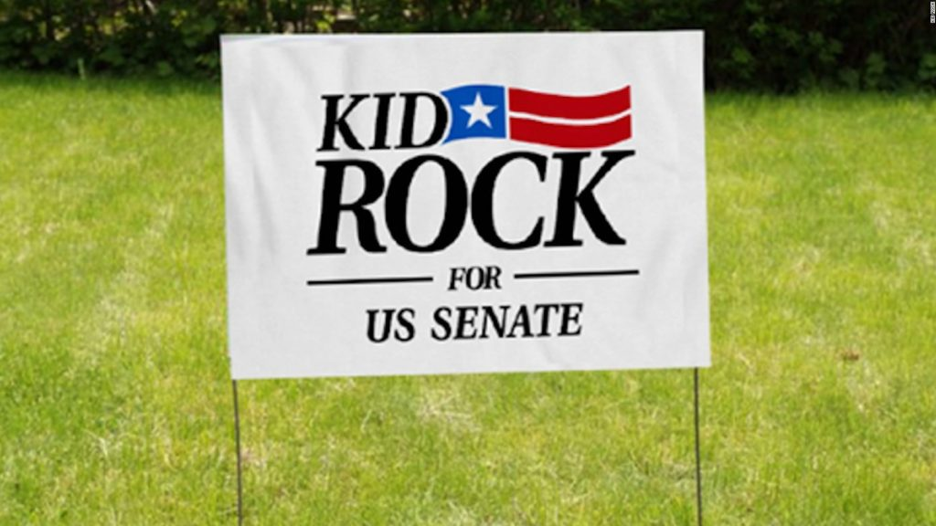 Kid Rock Ineligible on Ballot ... Thanks, Stabenow?