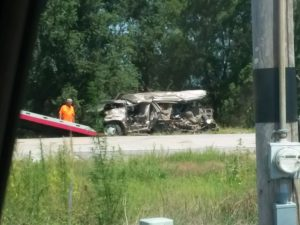 Multi-Vehicle Accident On Highway 30