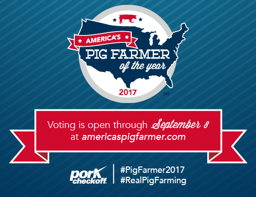 Two Nebraska Pig Farmers Named Finalists for 2017 America's Pig Farmer of the Year