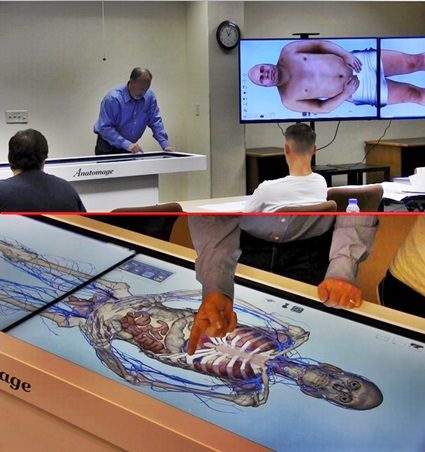 Anatomage Table gives WNCC students technological boost