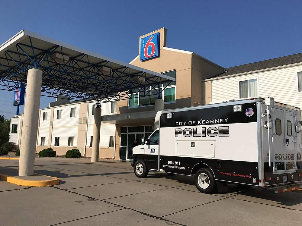 Kearney Motel 6 robbed Wed morning