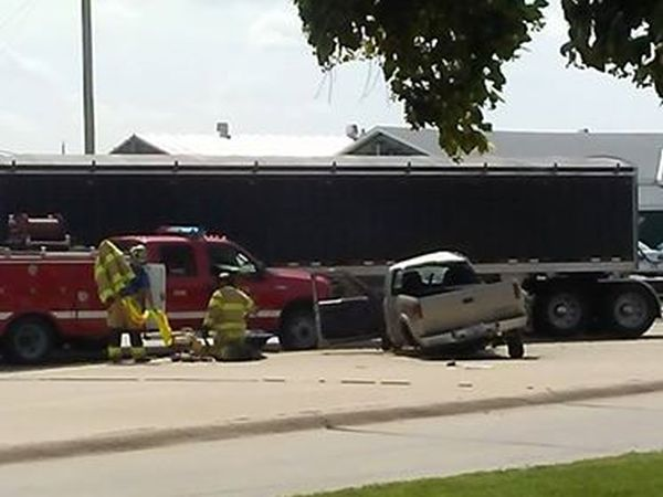 Two-vehicle accident in Cozad results in injury