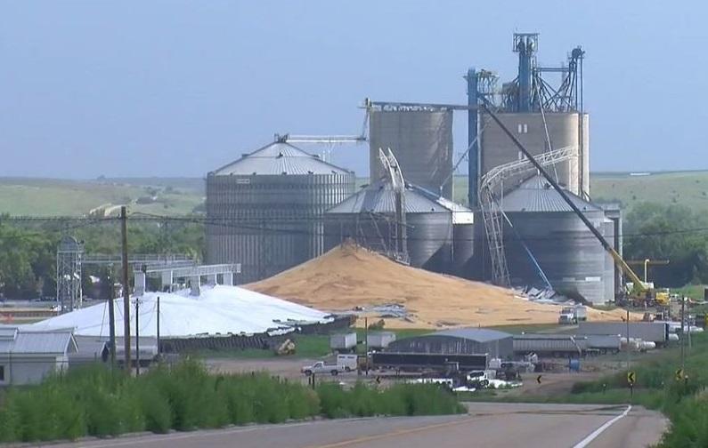 Grain Bin Collapses in Edison Spilling Over 1-Million Bushels of Corn