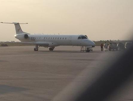Jet lands safely in western Nebraska after losing an engine