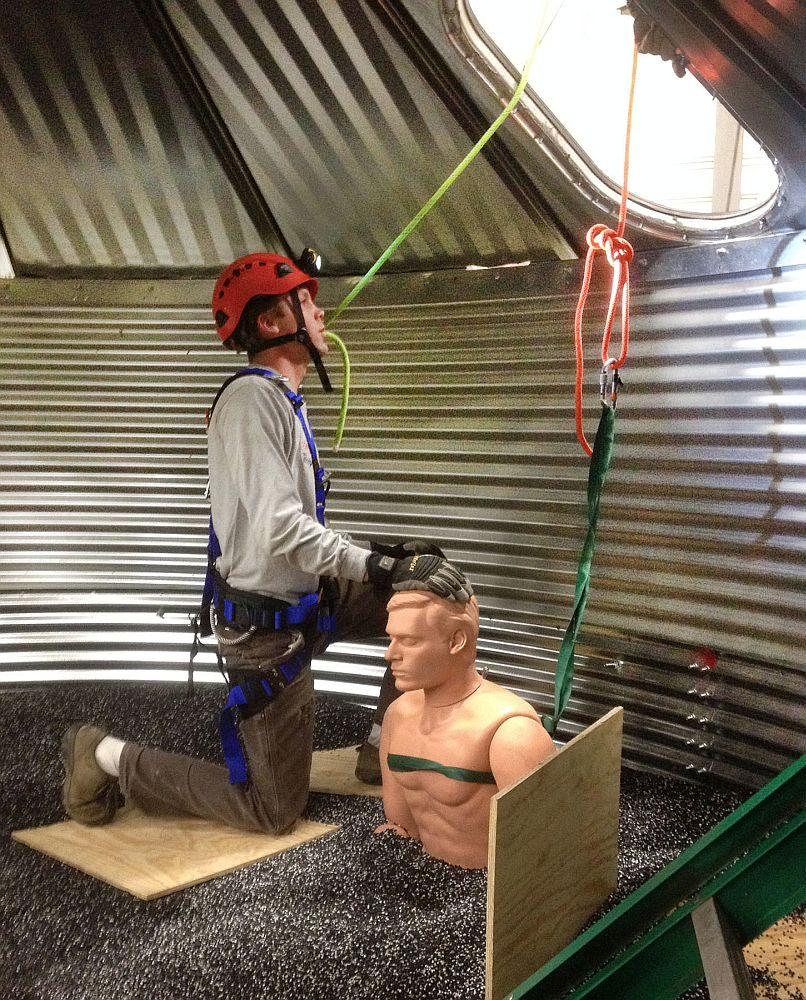 MPCC to demonstrate grain bin rescues