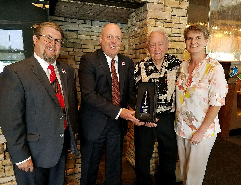 "Dick Chapin honored as ""Legendary Nebraska Broadcaster"" by Nebraska Broadcasters Association"
