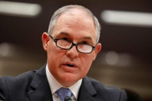 Pruitt Advised Not to Issue Exemptions