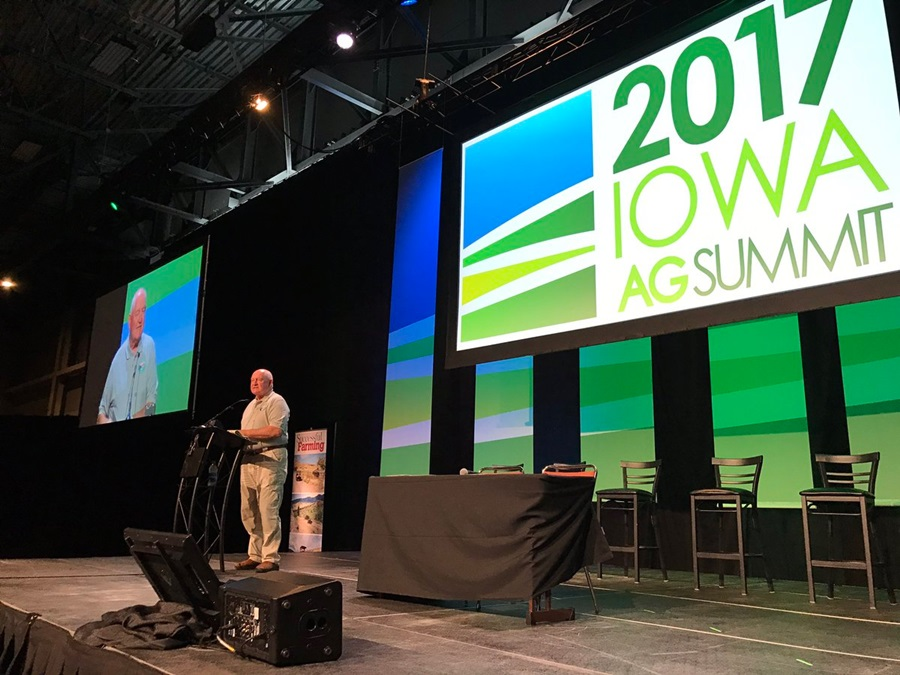 Agriculture Secretary Visits Iowa, Touts Need for Farmers
