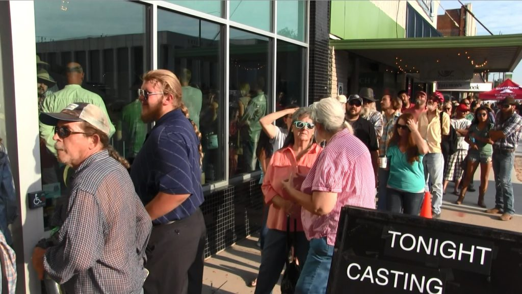 Hundreds audition to be extras for Coen Brothers production