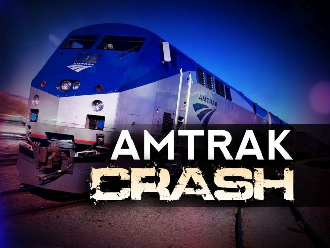 Amtrak Train Carrying GOP Lawmakers Hits Garbage Truck