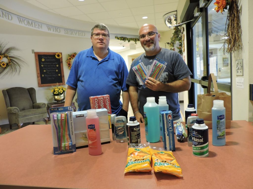 Local Democrats collect donated items for local veterans