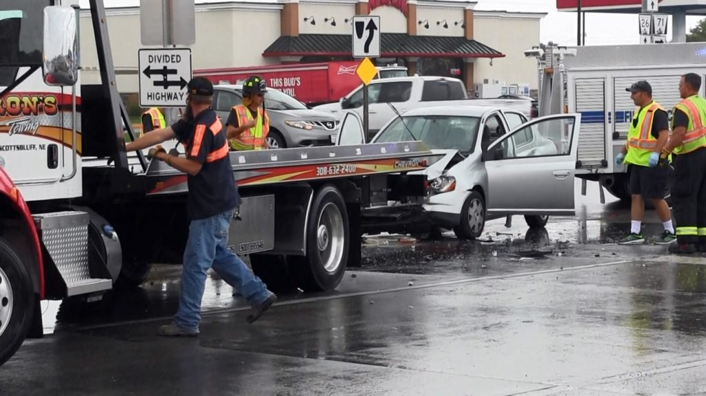 Minor injuries from accident at Avenue I and Highway 26