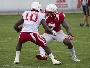 Huskers Getting 'Good Work Done'