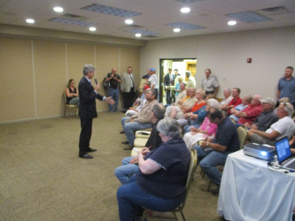 (Audio) Congressman Fortenberry Holds Listening Session In West Point