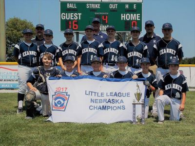Kearney Little League Headed East