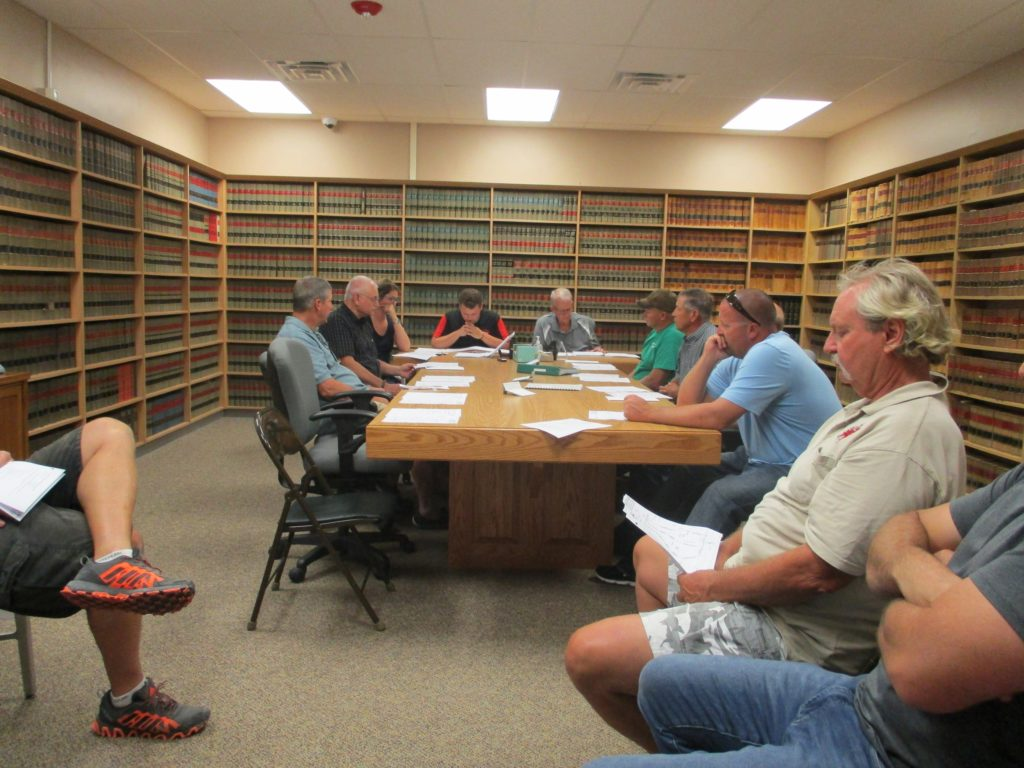 (Audio) Cuming County Planning Commission  Holds Public Hearing On Zoning Issue
