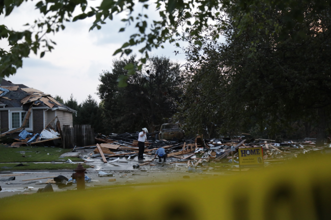 Cleanup begins at Lincoln home explosion site