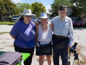 (Audio) Mitchell family from both coasts watch solar eclipse in Lexington