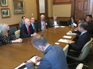 Governor Ricketts Kicks Off Trade Mission To Canada