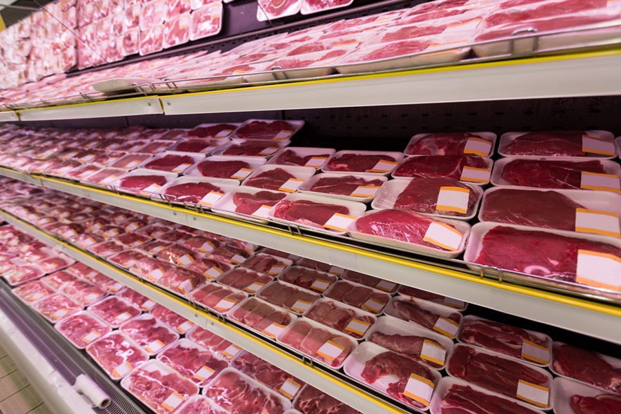 U.S. Red Meat Production Sets December Record