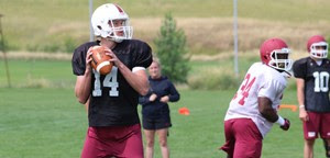 Coach says Chadron State football practices going well