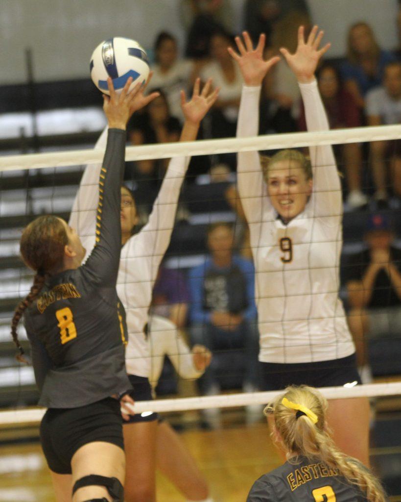 WNCC volleyball sweeps EWC