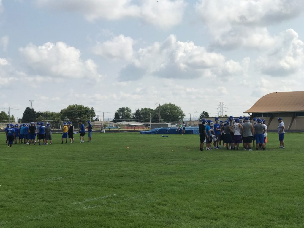 Gering football opens fall camp